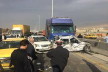 برخی آمار ارائه شده درخصوص تصادف در آزاد راه کرج قزوین غیر واقعی است