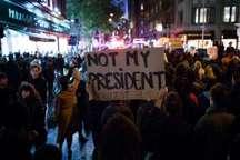 مردم امریکا مراسم تحلیف ترامپ را جشن نمی گیرند