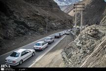 تردد خودروها از کرج به سمت شمال ممنوع شد