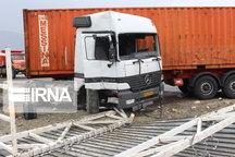 واژگونی کامیون در شاهیندژ یک کشته برجا گذاشت