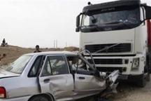 تصادف در محور فسا - داراب یک کشته داشت