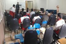 دوره بازآموزی امداد و نجات طرح نوروزی 98 در بوشهر آغاز شد