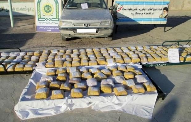 285 کیلوگرم مواد مخدر در آذربایجان شرقی کشف شد