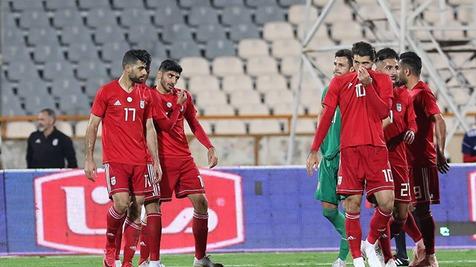 تساوی یک نیمهای ایران در بازی دوستانه مقابل قطر