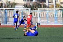 تیم کاسپین قزوین مقابل حریف تهرانی مساوی کرد