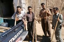 20 آتش کوب دستی به مردم منطقه حفاظت شده باشگل تحویل شد