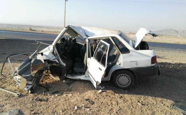 تصادف در جاده یاسوج اقلید ۲ کشته و یک زخمی برجا گذاشت