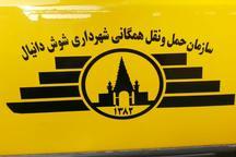 شهردار شوش:کرایه تاکسی افزایش نیافته است  با رانندگان متخلف برخورد می شود
