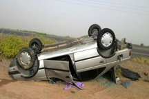 علت نیمی از حوادث جاده ای کشور مربوط به واژگونی خودروهاست