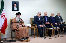 دیدار جمعی از مسئولان و محققان پژوهشکده علوم شناختی با رهبر معظم انقلاب