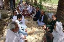 اجرای طرح بسیج همگام با کشاورز در ایرانشهر