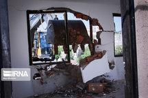 رستوران غیرمجاز در فیروزکوه تخریب شد