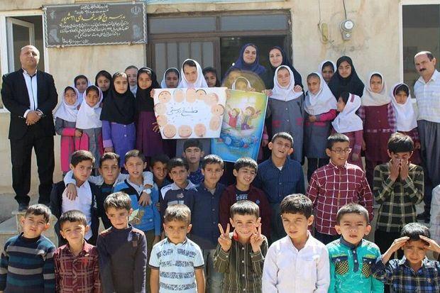بیست و سومین کتابخانه اهدایی خیّران در مهاباد راهاندازی شد