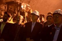 عملیات حفاری طولانیترین تونل جادهای خاورمیانه به پایان رسید
