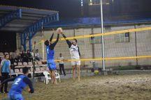 تیم های مرحله نیمه نهایی والیبال ساحلی ارومیه مشخص شدند