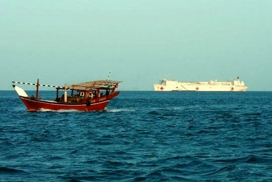 نجات 4 صیاد گمشده در دریای عمان