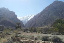 ارتفاعات کوهشاه احمدی برفی شد