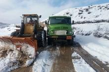 3298 کیلومتر جاده خراسان شمالی برف روبی شد