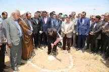 ساخت مجتمع گلخانه ای نودهک شهرستان تاکستان آغاز شد