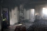 آتشسوزی یک منزل مسکونی در اهواز