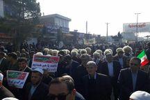 حضور بی نظیر مذاهب و اقوام مختلف آق قلا در راهپیمایی  22 بهمن