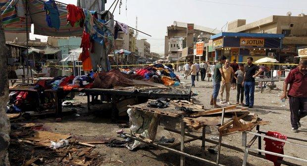 انفجار تروریستی در بغداد 68 کشته و زخمی بر جای گذاشت