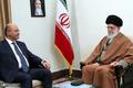 رهبر معظم انقلاب:  مقابل دشمنان «عراقِ قدرتمند و آرام» با قدرت بایستید/ مسئولان جمهوری اسلامی برای گسترش همکاریها با عراق بسیار مصمم و محکم هستند/ ما در کنار برادران عراقی خود خواهیم بود