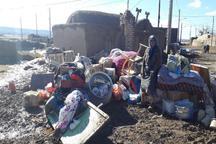 سیل به 40 خانه روستایی اسفراین خسارت زد