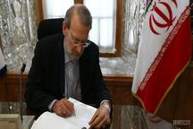 پیام تسلیت رئیس مجلس شورای اسلامی در پی درگذشت والده اخوان طاهری