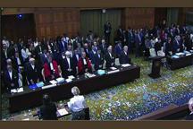 پایان جلسه اول رسیدگی به شکایت ایران از آمریکا