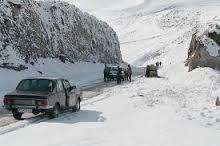 بهمن دوباره جاده چالوس را مسدود کرد