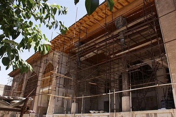 آغاز مرحله چهارم مرمت دیوانخانه کریمخانی در شیراز