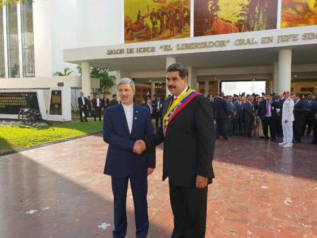 دیدار وزیر دفاع با رئیس جمهور ونزوئلا