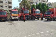 تیم امداد و نجات آتش نشانی تهران به مناطق سیل زده خوزستان رفت
