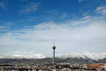 کیفیت هوای تهران با شاخص 94 سالم است