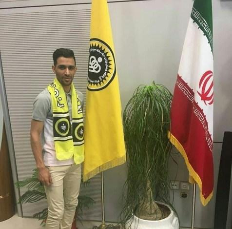 حسین پاپی با سپاهان قراردادش را تمدید کرد+ عکس