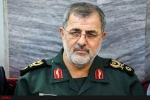 فرمانده نیروی زمینی سپاه پاسداران در راه پلدختر