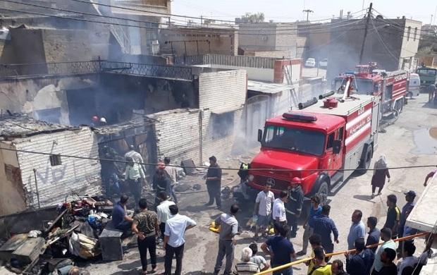 تعداد جان باختگان حادثه آتش سوزی آبادان به چهار نفر رسید