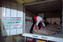 دومین محموله کمک های مردمی میانه به مناطق سیل زده ارسال شد
