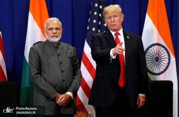 ترامپ جنگ تجاری علیه هند را کلید زد