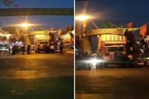 جزئیات برخورد کامیون با داربست هیئت عزاداری در خیابان منظریه
