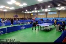 رقابت های تنیس روی میز قهرمانی کشور در یاسوج آغاز شد