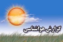 پیش بینی بارندگی پراکنده رطوبت 96 درصدی  در بوشهر