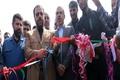 کلنگ زنی و افتتاح دو پروژه در بخش های سلامت و راه سازی در شهرستان شوش