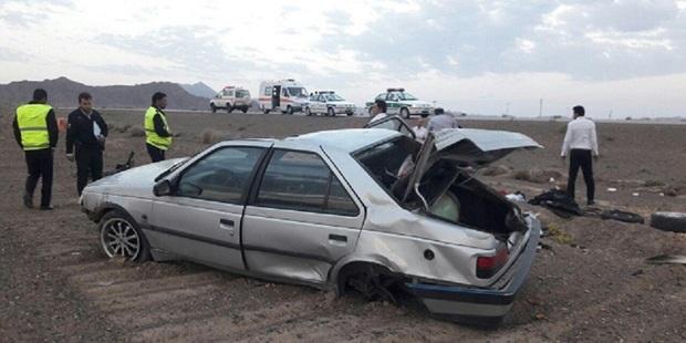 سانحه رانندگی در گناباد یک کشته بر جای گذاشت