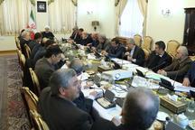 با حضور روحانی، جلسه هماهنگی سفر کاروان دولت به استان گلستان برگزار شد