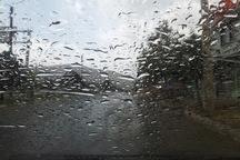 آسمان سمنان بارانی می شود