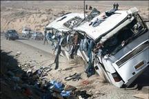 برخورد اتوبوس با کامیون در محور بجنورد- جنگل گلستان سه کشته داشت