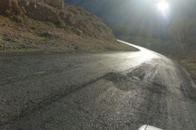 47 کیلومتر از جاده های کهگیلویه روکش آسفالت شد