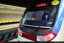 حادثه در خط متروی تهران - کرج   قطار از ریل خارج شد